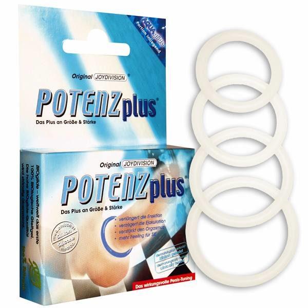 Эрекционное кольцо – POTENZplus transparent small