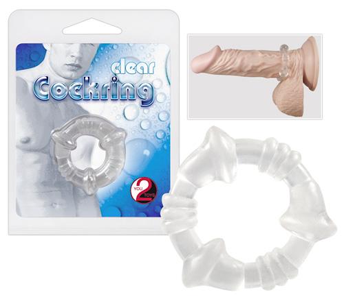 Эрекционное кольцо – Cockring Clear