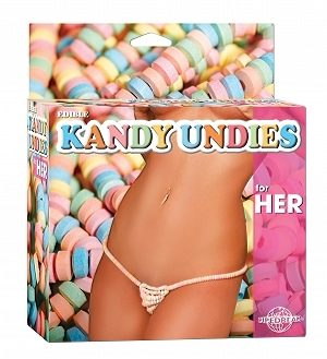 Съедобное белье – Edible Kandy Undies For Her