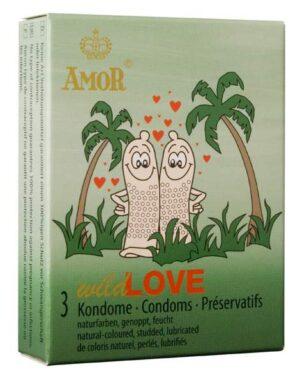 Презервативы – Amor wild Love 3шт