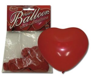 Воздушные шары – Herzluftballon 6er