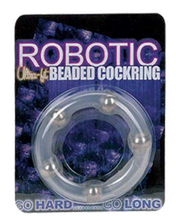 Эреционное кольцо – Robotic Ultra Fit Cock Ring Clear