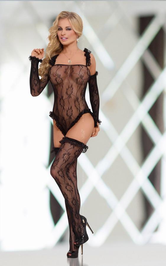 Комплект – Burlesque, black, S-L