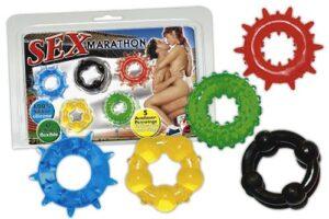 Набор эрекционных колец Sex-Marathon