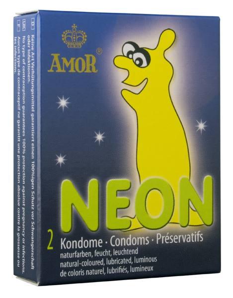 Презервативы – Amor Neon 2 шт