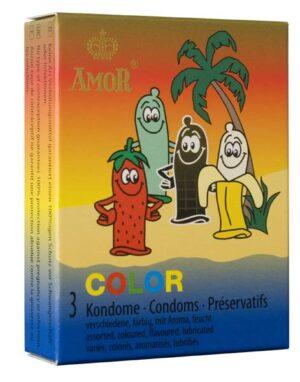 Презервативы – Amor Color 3шт