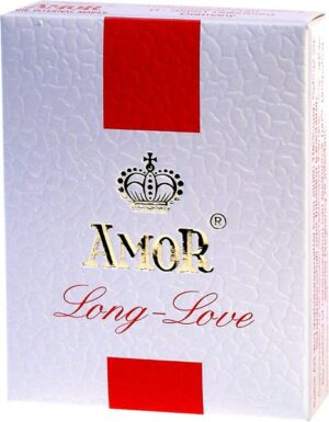 Презервативы – Amor-Long Love, nawilżane 3шт