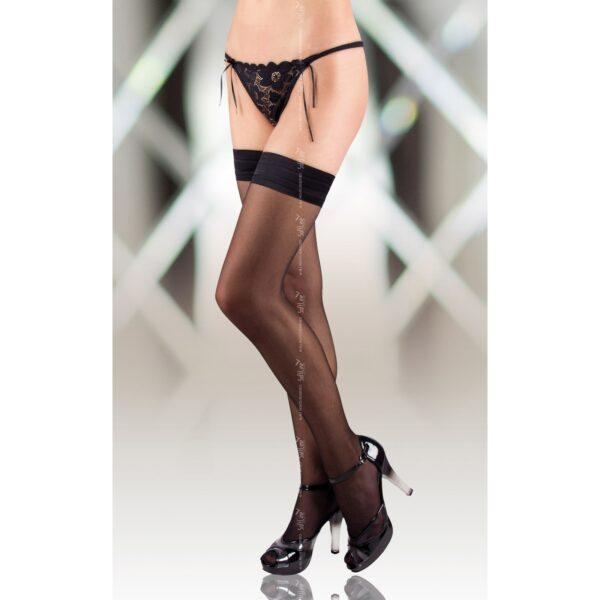 Чулки – Stockings 5513, черные 4