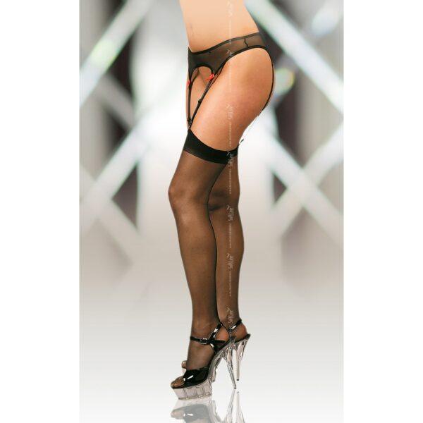 Чулки – Stockings 5523, черные 5