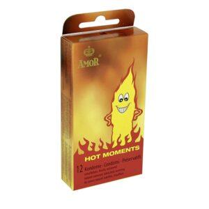 Презервативы – AMOR Hot Moments 12er-Packung
