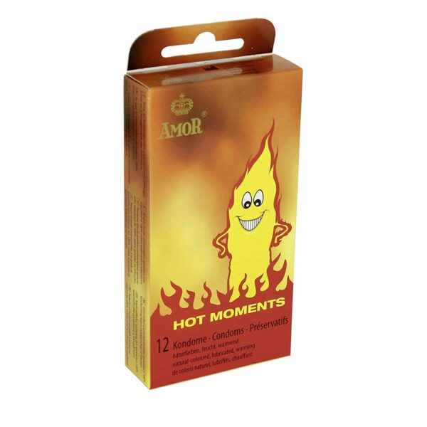 Презервативы – AMOR Hot Moments 12er-Packung
