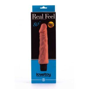 Реалистичный вибратор – Reel Feel Vibrator Flesh 8,0″