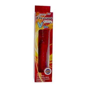 Вибратор Classic Jelly Vibe Red 23 cm.